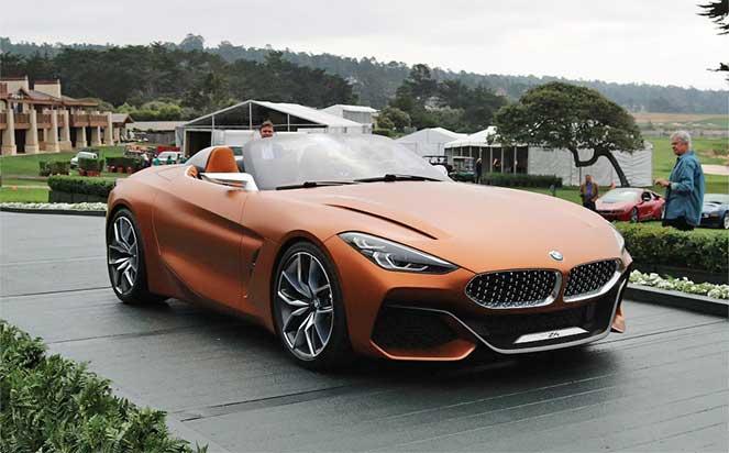 BMW явил миру новый родстер Z4