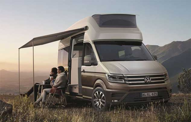 Дом на колесах California XXL от Volkswagen