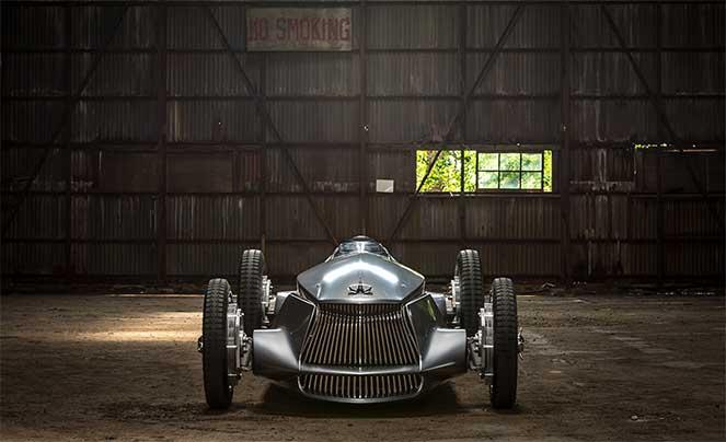 Электрическая версия гоночного авто