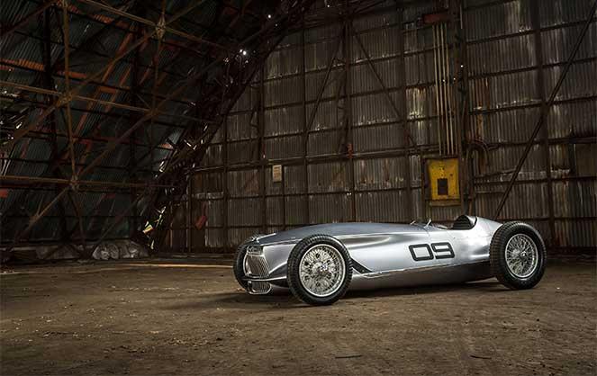 В Infiniti сделали электрический прототип в стиле гоночных машин 1940-х