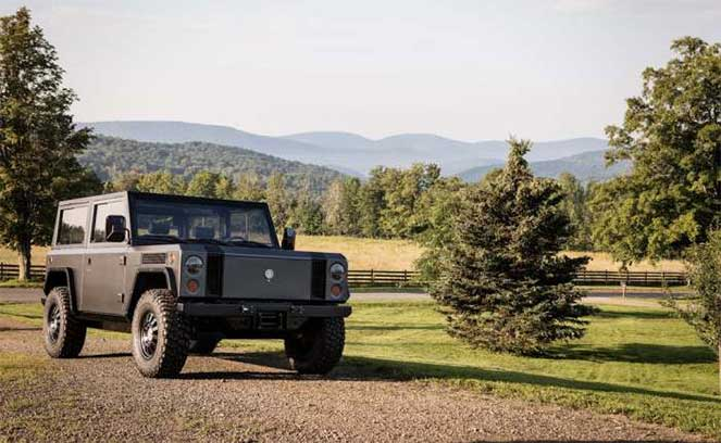 Bollinger выпустила электровнедорожник, который даст фору авто с бензиновыми двигателями