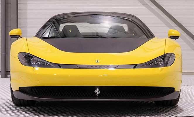 1 из 6 эксклюзивных Ferrari Sergio выставили на продажу в Нидерландах