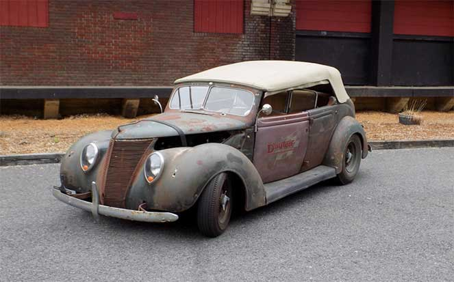 Ford Phaeton 1937 года получил новую жизнь от ателье Dayton Wire Wheels