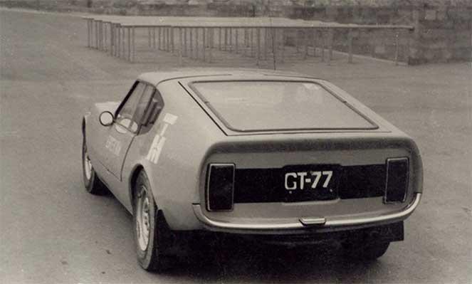 Самодельное авто GT-77 на базе «Москвича-412»