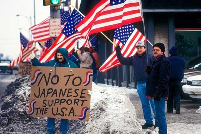 Протесты против автомобилей Хонда