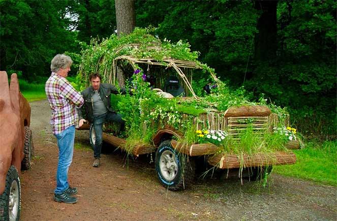 В Японии хотят делать автомобили из дерева