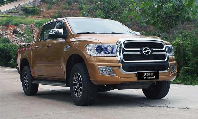Китайцы сделали копию Toyota Tundra