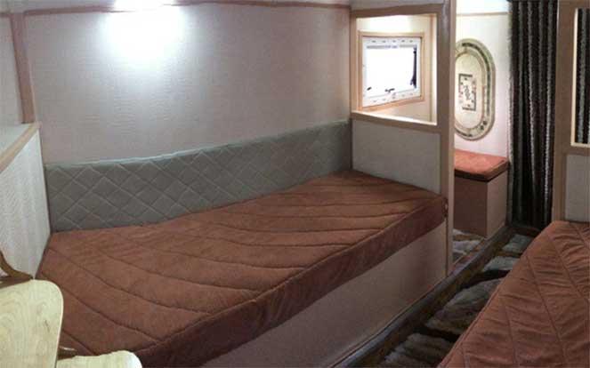 Комфортный дом на колесах на шасси КамАЗ-4326
