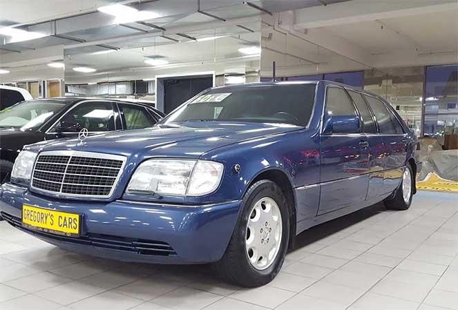 На продажу выставили лимузин Ельцина