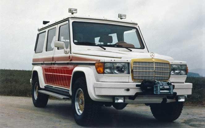 Оригинальный кастомный проект на основе Mercedes-Benz G-Class