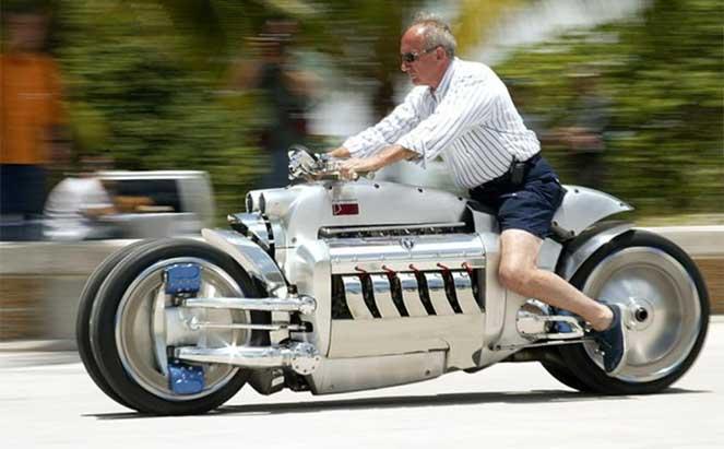 Мотоциклы с автомобильным сердцем