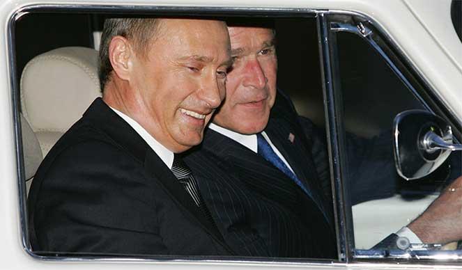 Буш и Путин