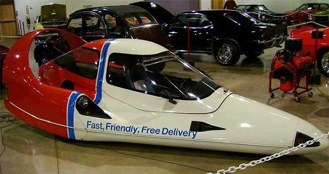 Необычные авто, доставляющие пиццу