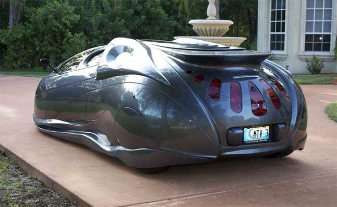 Невероятное авто на дорогах США