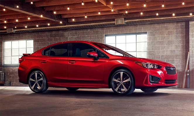 Subaru выпустит новую модель Impreza