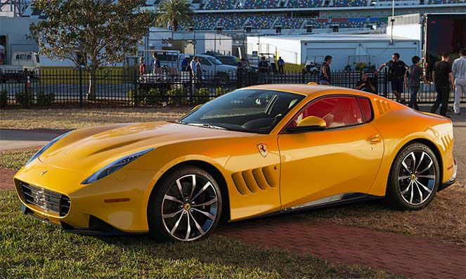 Новая Ferrari