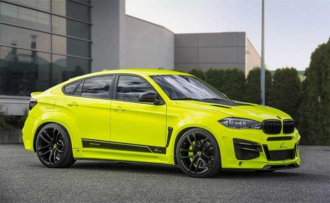 BMW выпустила новый внедорожник BMW X6 от Lumma Design