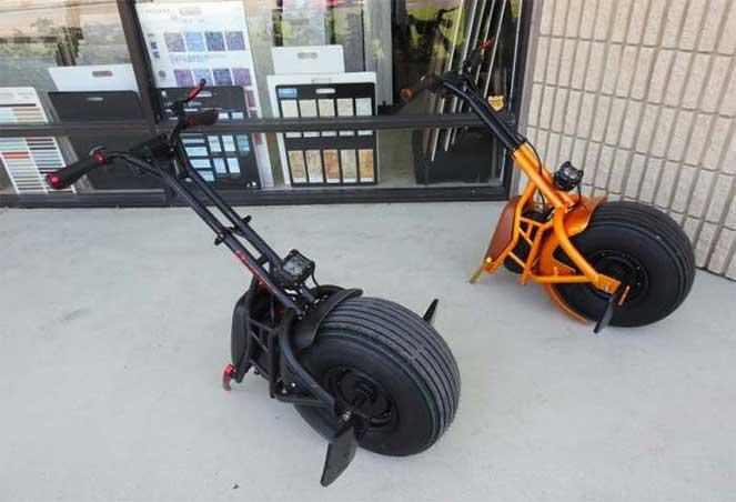 Одноколесный скутер