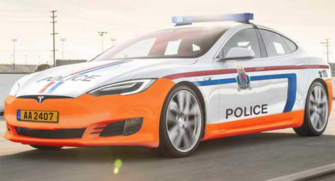 Полицейские Tesla будут преследовать самых злостных нарушителей