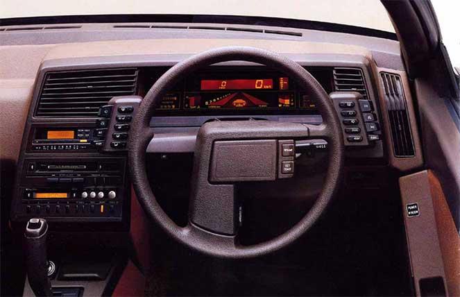 Subaru XT Alcyone 1985