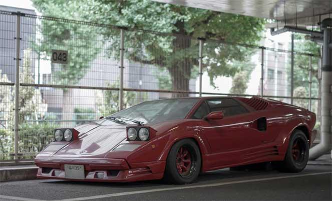 Редкая модель Lamborghini обнаружена на японской парковке