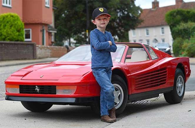 Самое дорогое детское авто