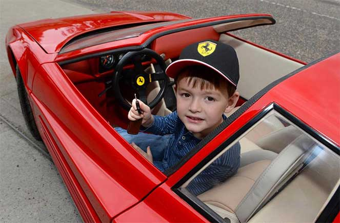 На продажу выставили самое дорогое детское авто в мире