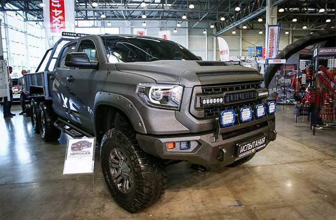 Toyota Tundra с формулой колес 6 x 6