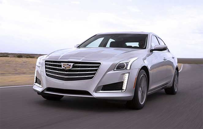 Новый седан от Cadillac