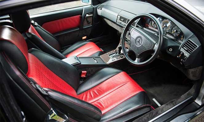 Уникальный Mercedes-Benz SL 320 Mille Miglia