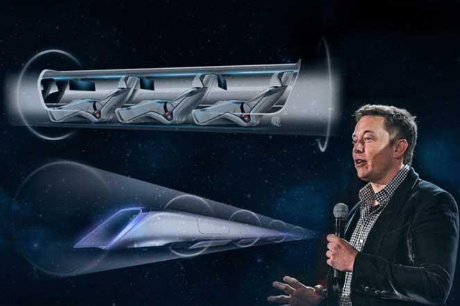 Проект вакуумного поезда Hyperloop от Илона Маска становится реальностью