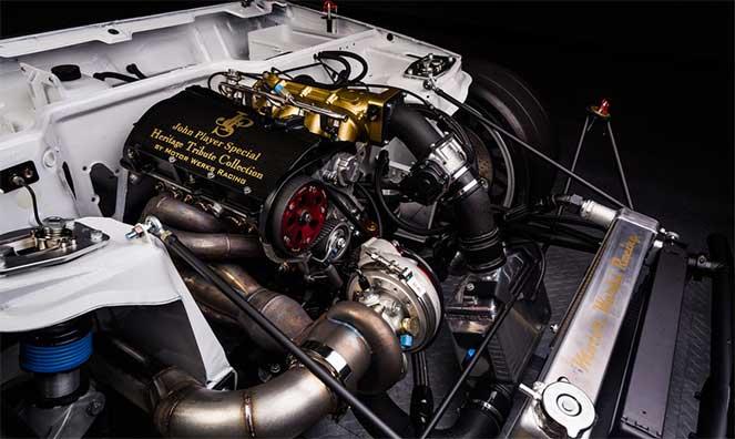Великолепный Porsche 924 с мощным турбомотором от Audi