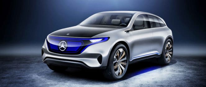 Mercedes поколения EQ