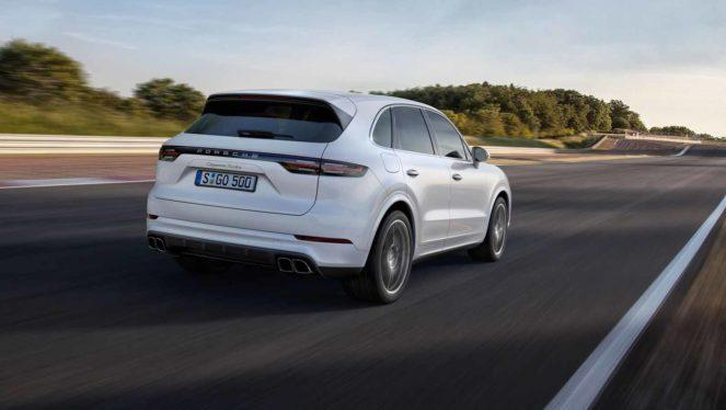 New Porsche Cayenne Turbo