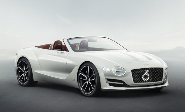 Концепт электрокара Bentley