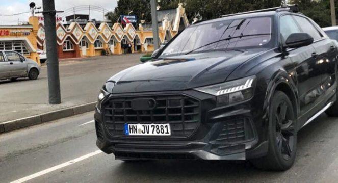 Новый внедорожник Audi тайно испытывают в России