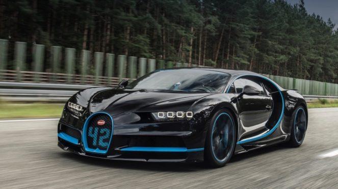 Новое достижение от неудержимого Bugatti Chiron