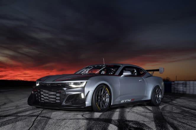 Новый Camaro GT4.R ищет покупателей