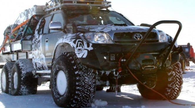 Усиленный внедорожник Toyota