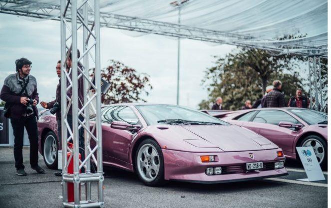 В Швейцарии провели конкурс красоты Lamborghini