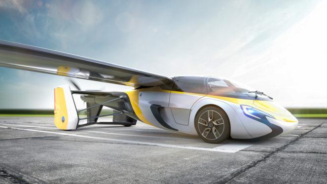 AeroMobil представил четвертое поколение Flying Car Lands