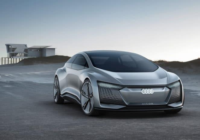 Audi собирается выпустить беспилотное футуристическое авто