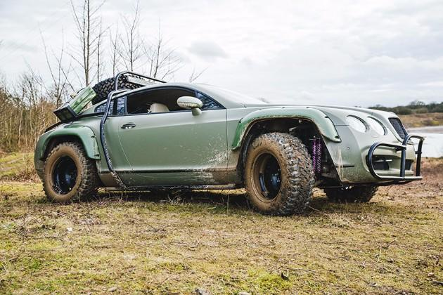 Из Bentley сделали ралли-мобиль