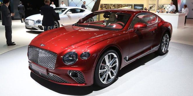 Новый Bentley