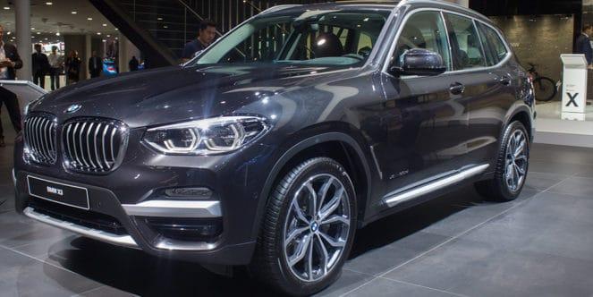 BMW X3 новый