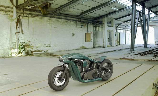 Как будет выглядеть мотоцикл Харли-Дэвидсон в будущем