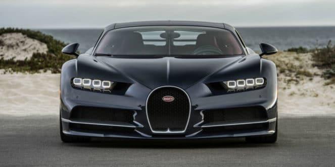 Новый Bugatti Chiron будет еще быстрее