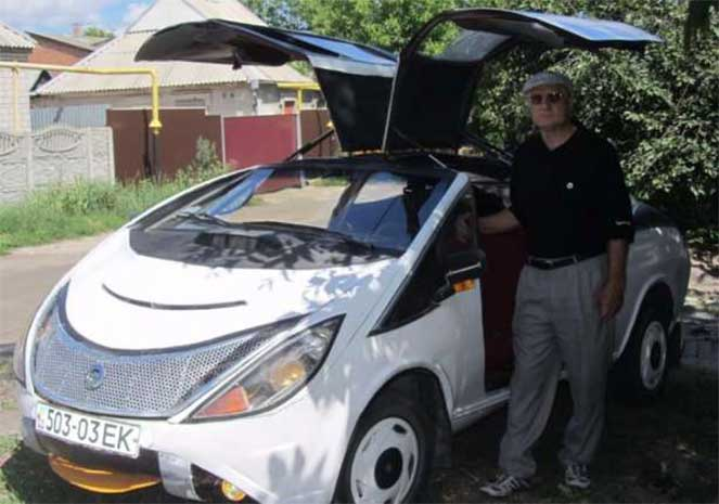 Эксклюзивный спорткар на базе копейки ВАЗ 2101 продают в Украине