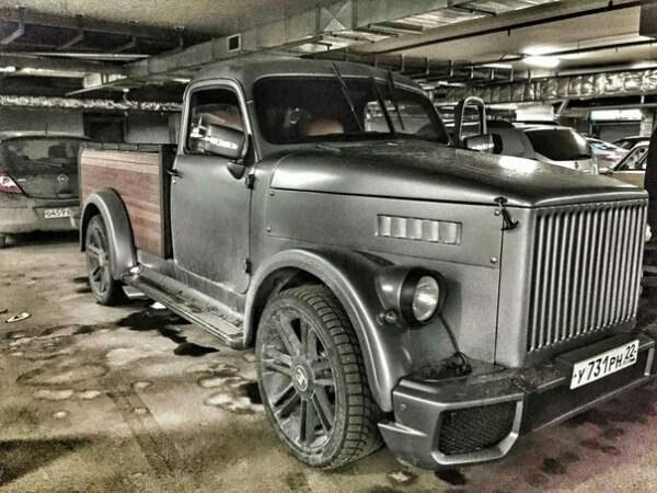 Хот-род ГАЗ-51 с интерьером Bugatti