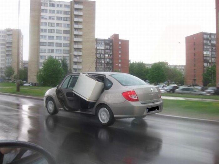 Что возят в авто